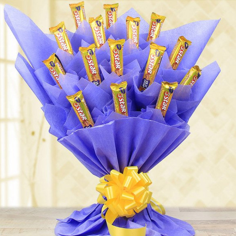 A Sweet Surprise of 5 Star Bouquet