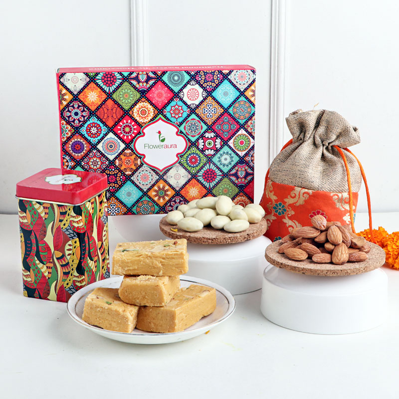 A thoughtful gift box filled with taste and health