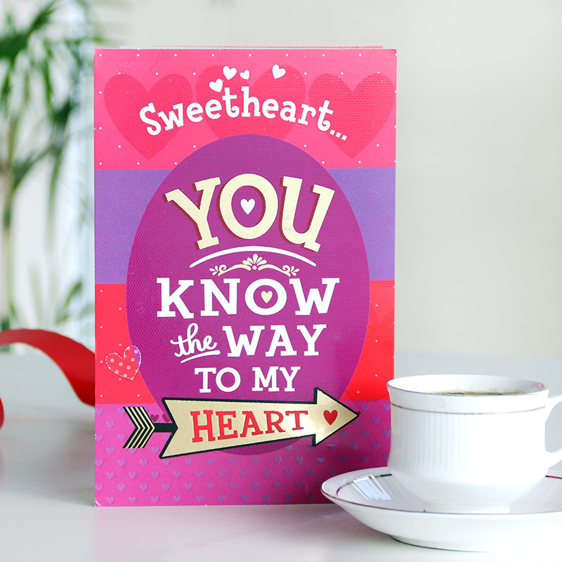 Way to Heart Card
