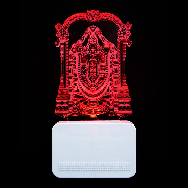 Acrylic Balaji Night Lamp