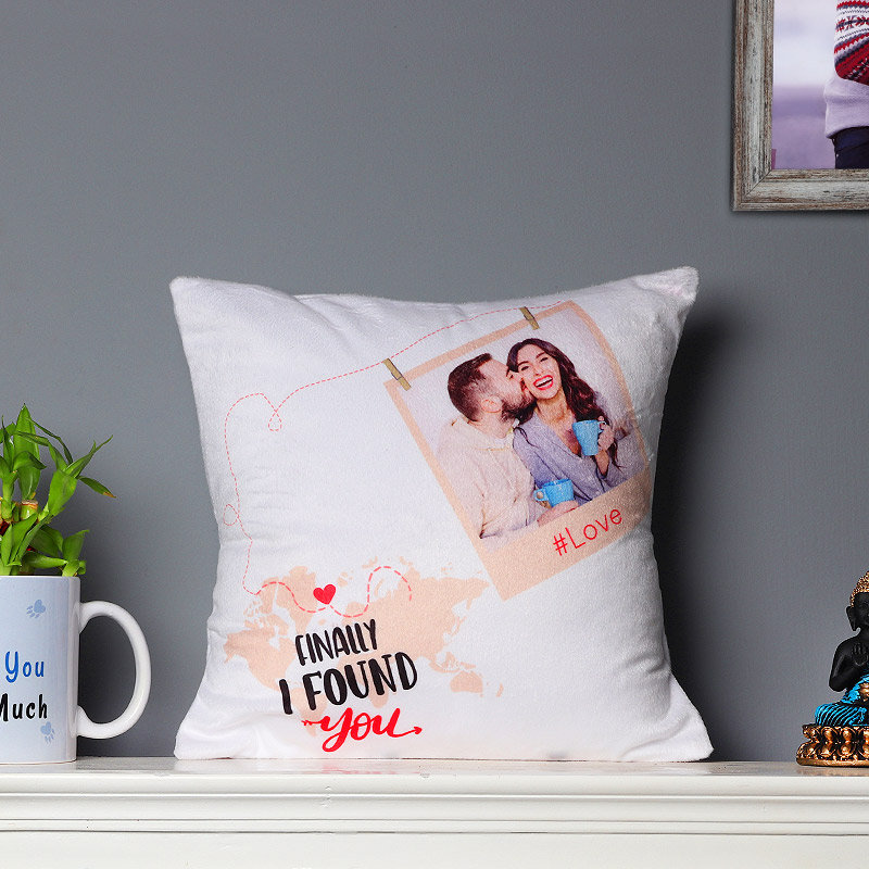 Valentines Gift Online - Personalised Printed Cushion