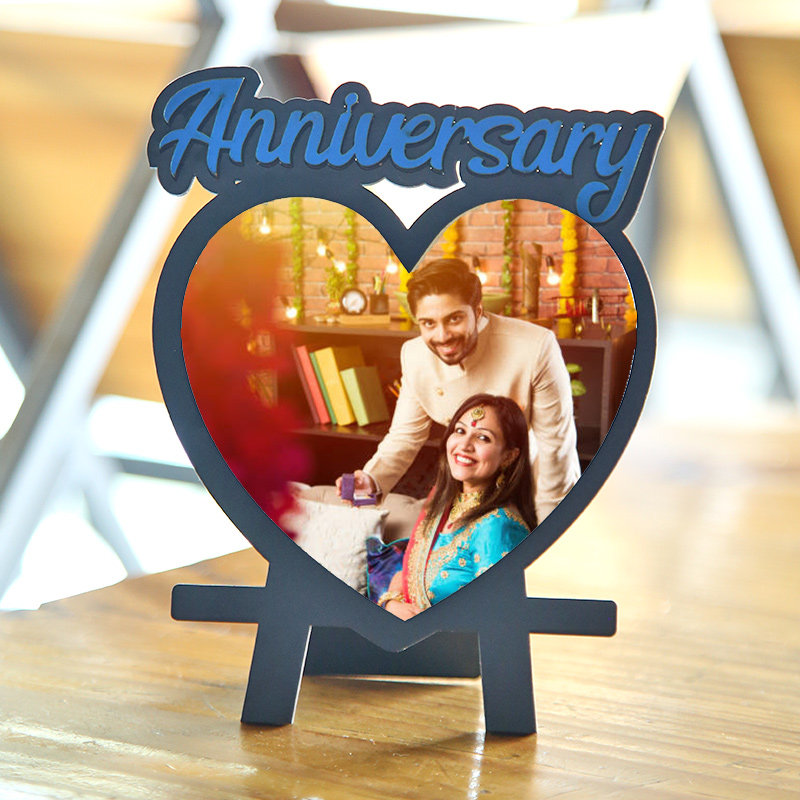 Anniversary Heart Custom Frame