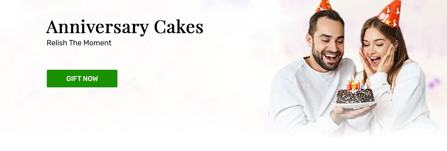 Send anniversary cakes online