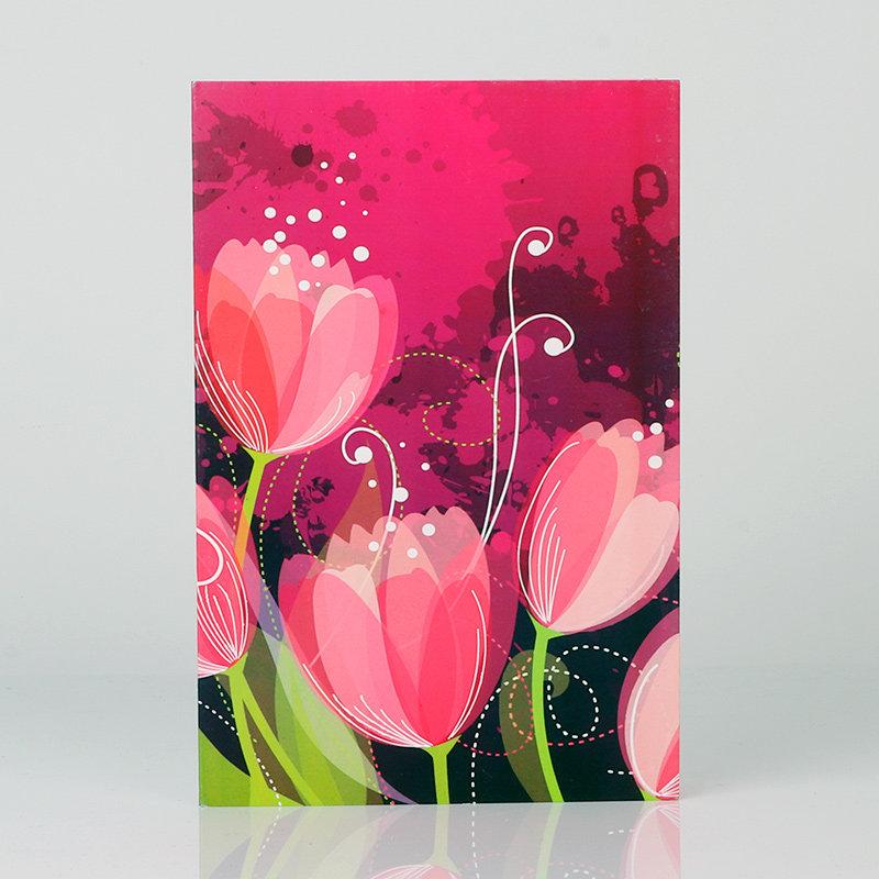 Artistic Floral Card