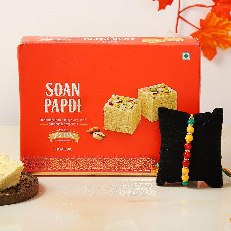 Artistic Soan Rakhi