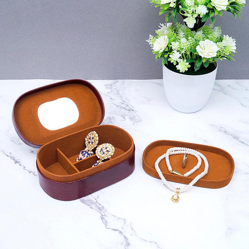 Artsy Leather Jewellery Organiser