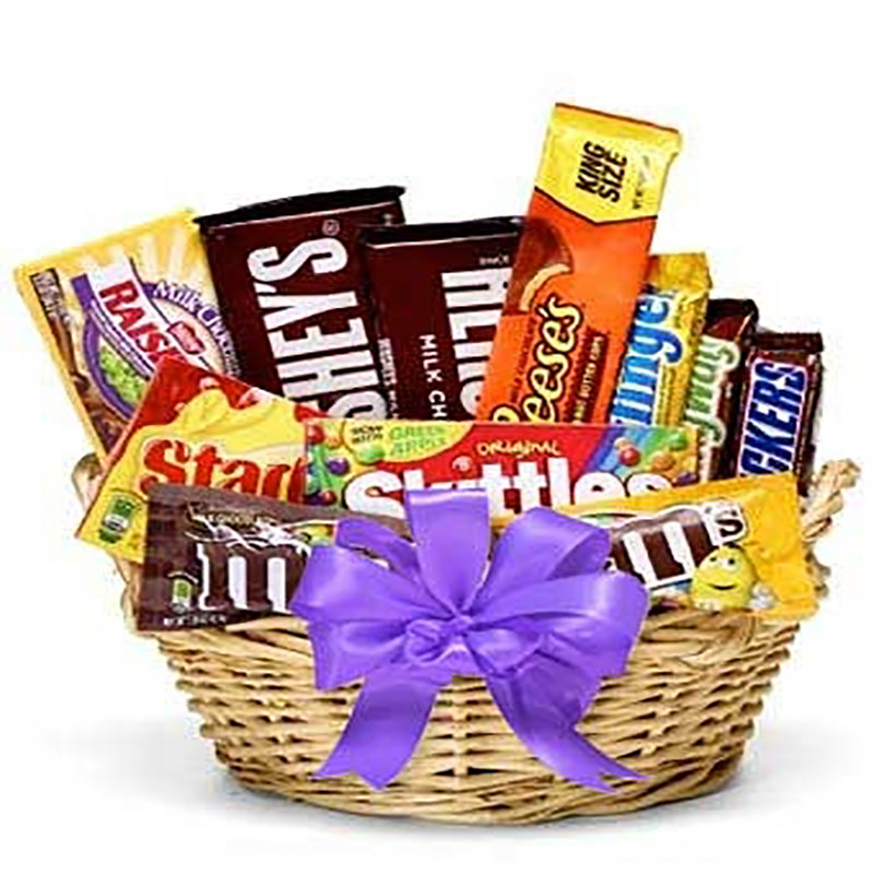 Assorted Candy Basket