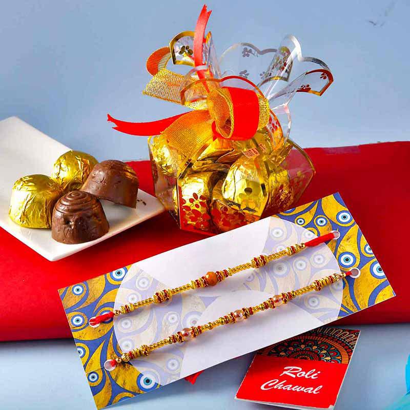 Assorted Chocolates N Rakhis