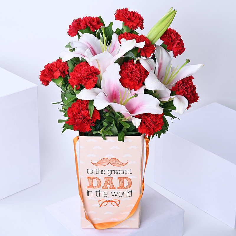 Assorted Fathers Day Flowers