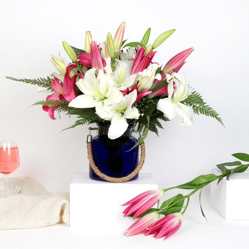 Assortment Of Lilies