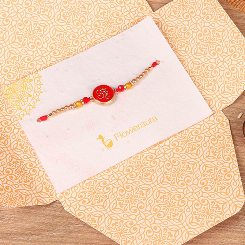Rakhi in Om Rakhi - Rakhi Gifts for Brother Online