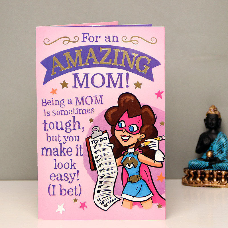 Awe Inspiring Mother - A Card For Mother