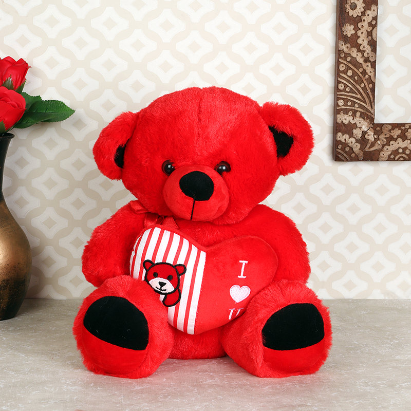 Adorable Red Heart Teddy