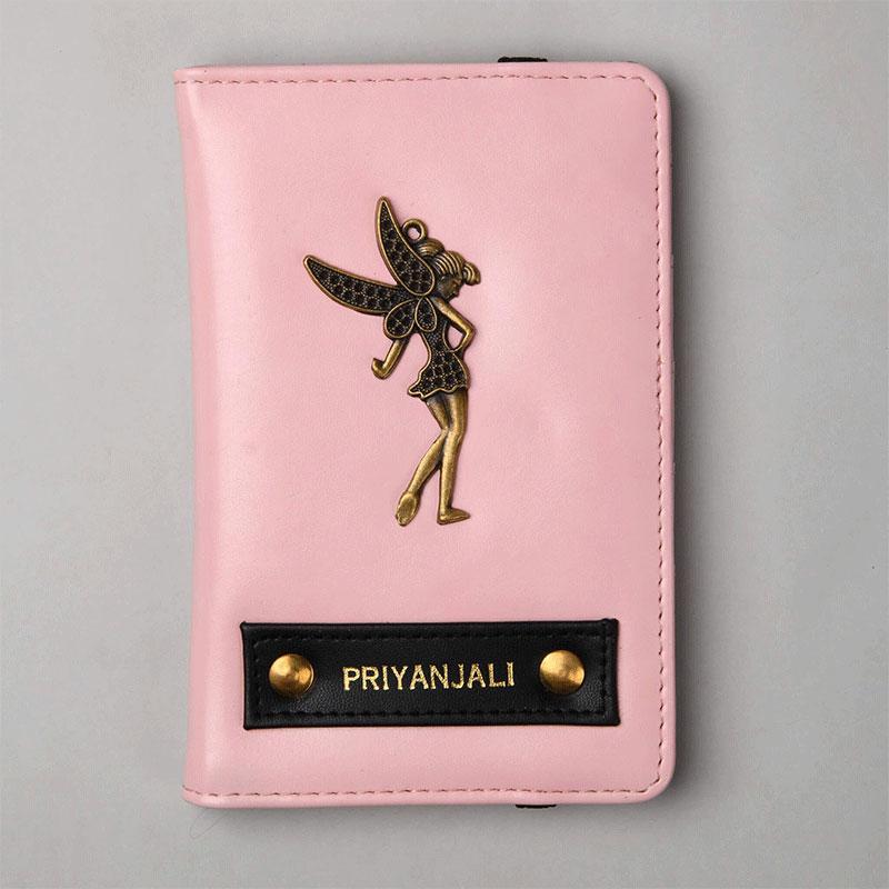 Baby Pink Passport Wallet