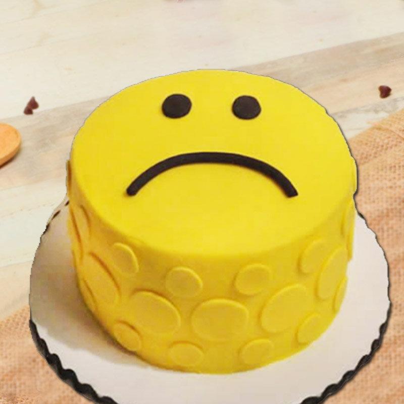 Sad Emoji Designer Cake