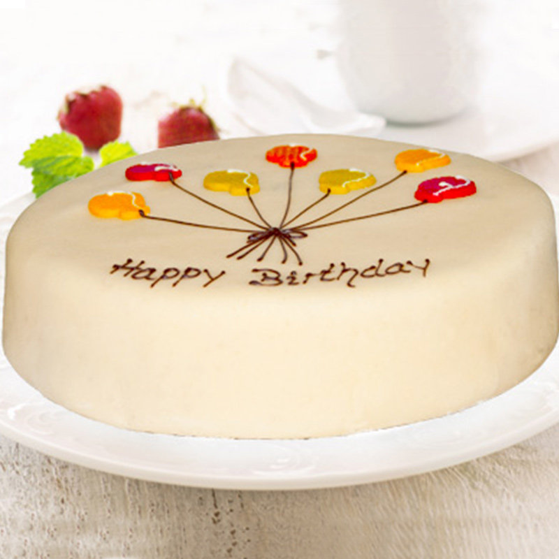 Balloon Poppy Cake
