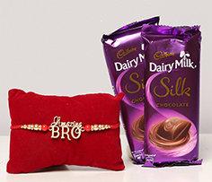 Rakhi with Chocolates to Overseas