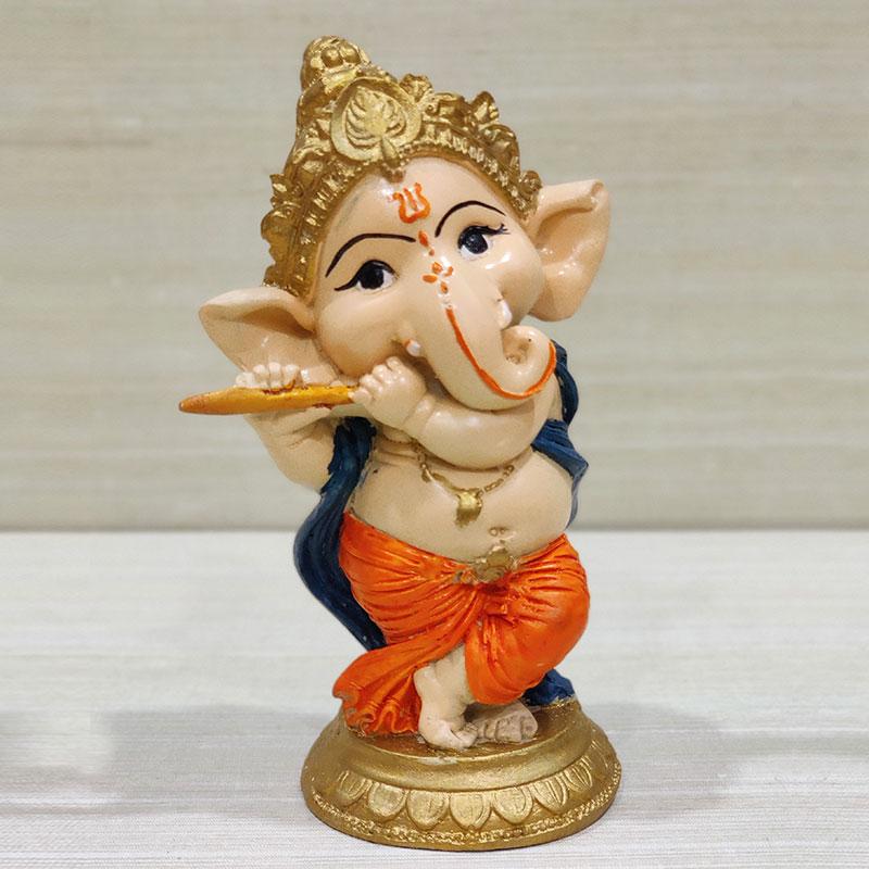 Bansuri Ganesha Statue