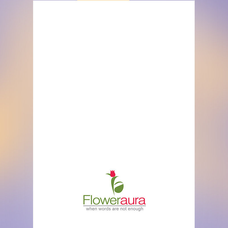 White Blank Note for Bday E Greeting Card