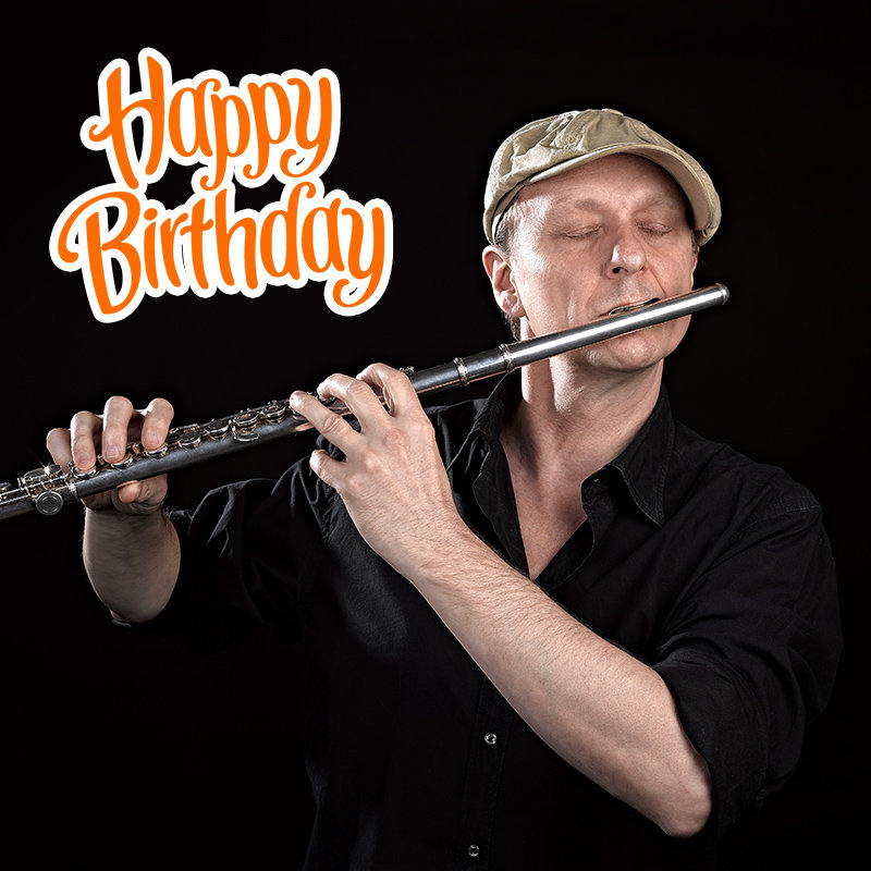Wish a Happy B'day With Flute Song