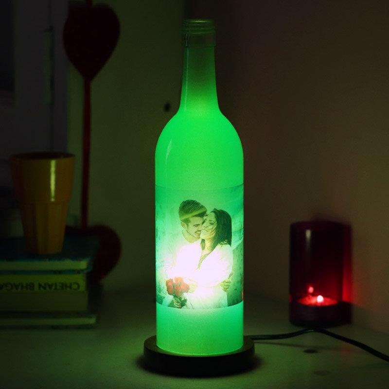 Be Mine Bottle Lamp for Lovers
