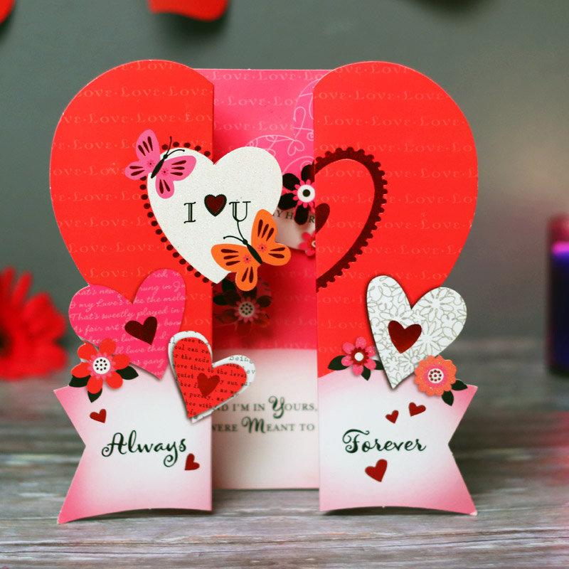 Valentine Day Special Cards - Be Mine Forever