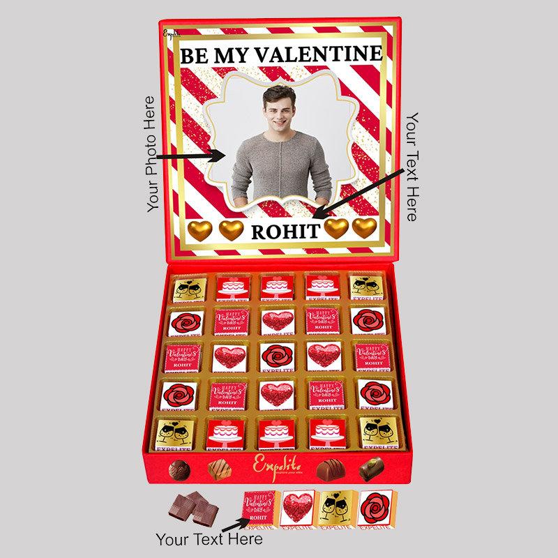 Be My Valentine Chocolate Box