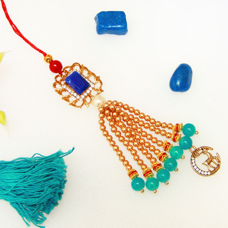 Beads Latkan Rakhi