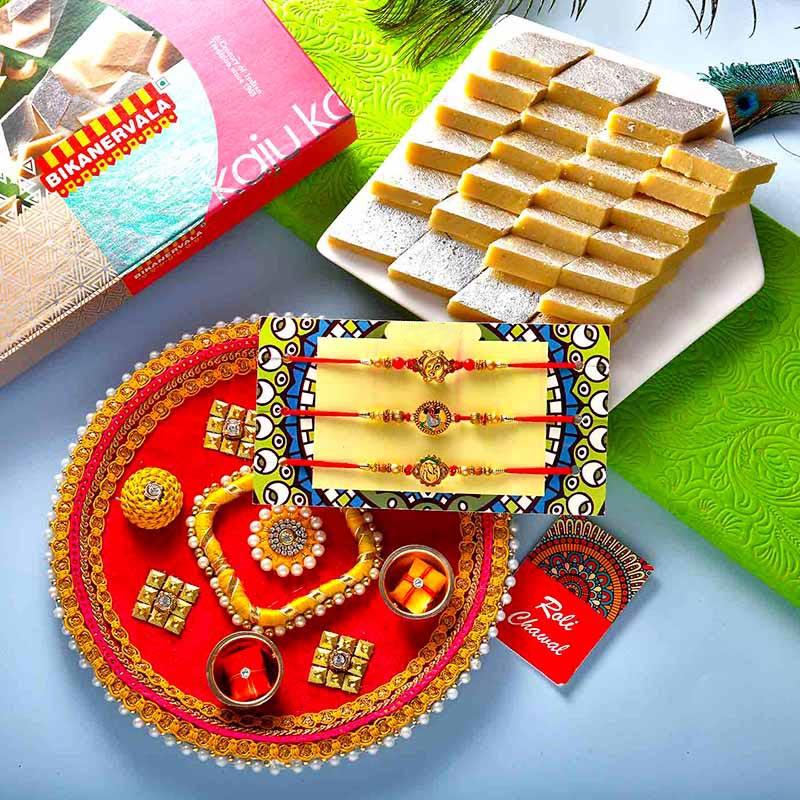 Beatific Rakhi Thali