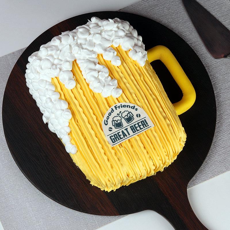 Beer Designer Cake