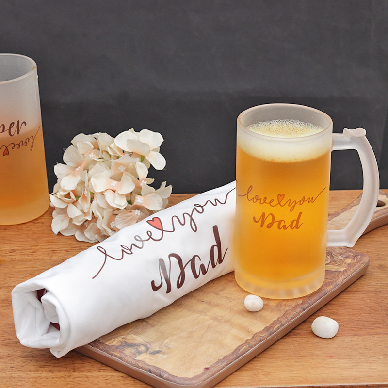 Beer Mug N Shirt- Fathers Day Gift