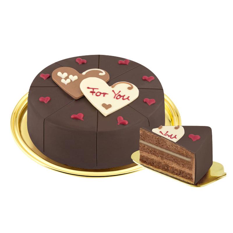 Belgian Dark Chocolate Cake