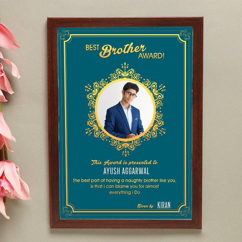 Best Bro Award