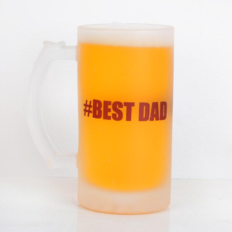 Unbreakable Fathers Day Beer Mug