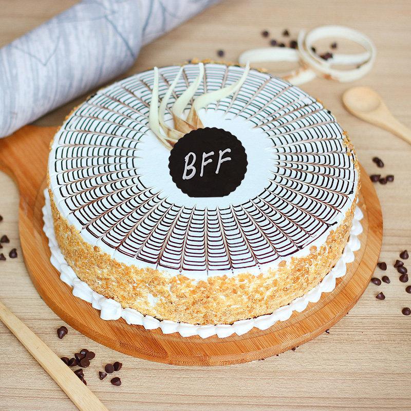 Best Friend Butterscotch Cake