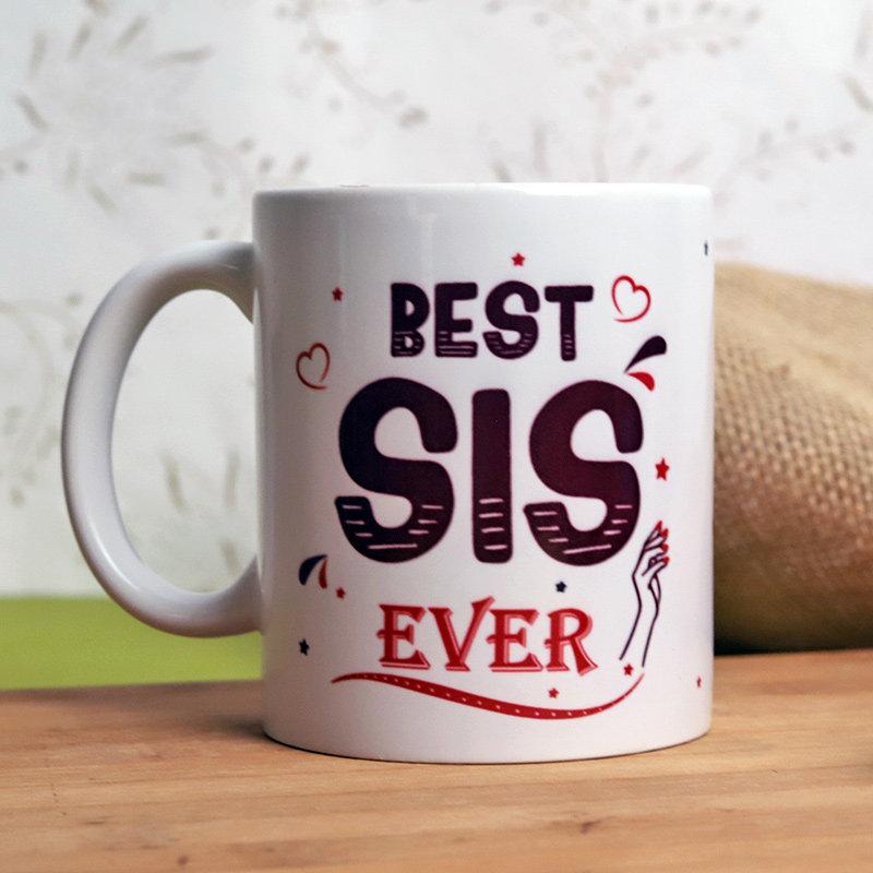 Best Sis Custom Coffee Mug