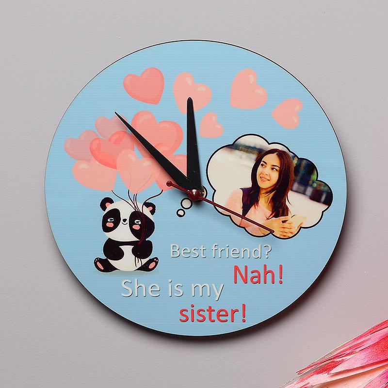 Best Sister Clock
