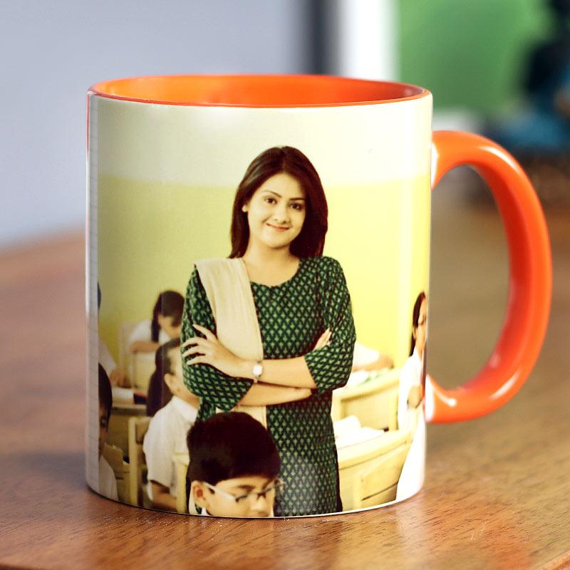 Best Teacher Ever Personalised Mug