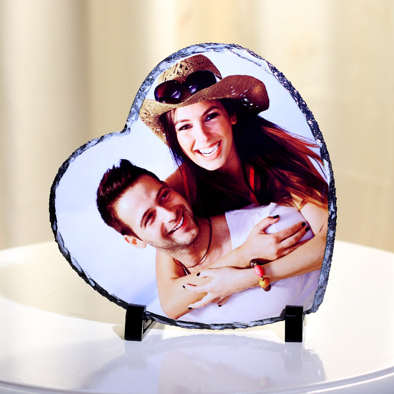 Heart Shaped Personalised Frame Gift For Your Valentine