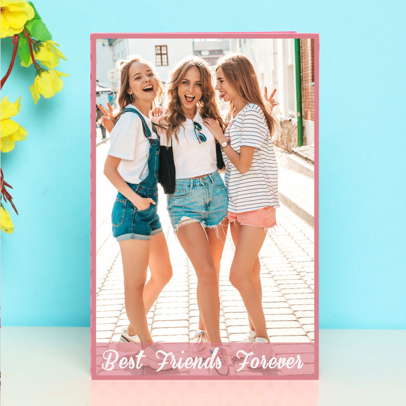 Best Friends Forever Personalised Card