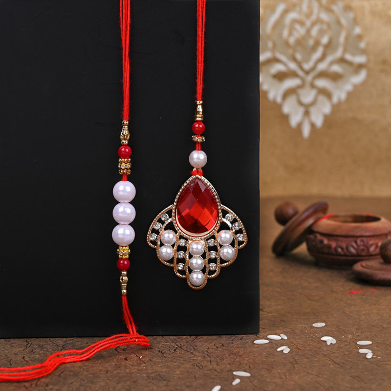 Order One Bhaiya Bhabhi Rakhi Online