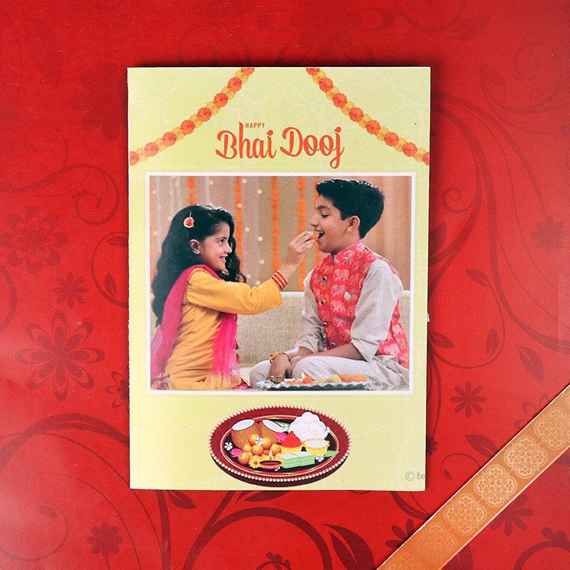 Bhai Dooj Personalised Greeting Card