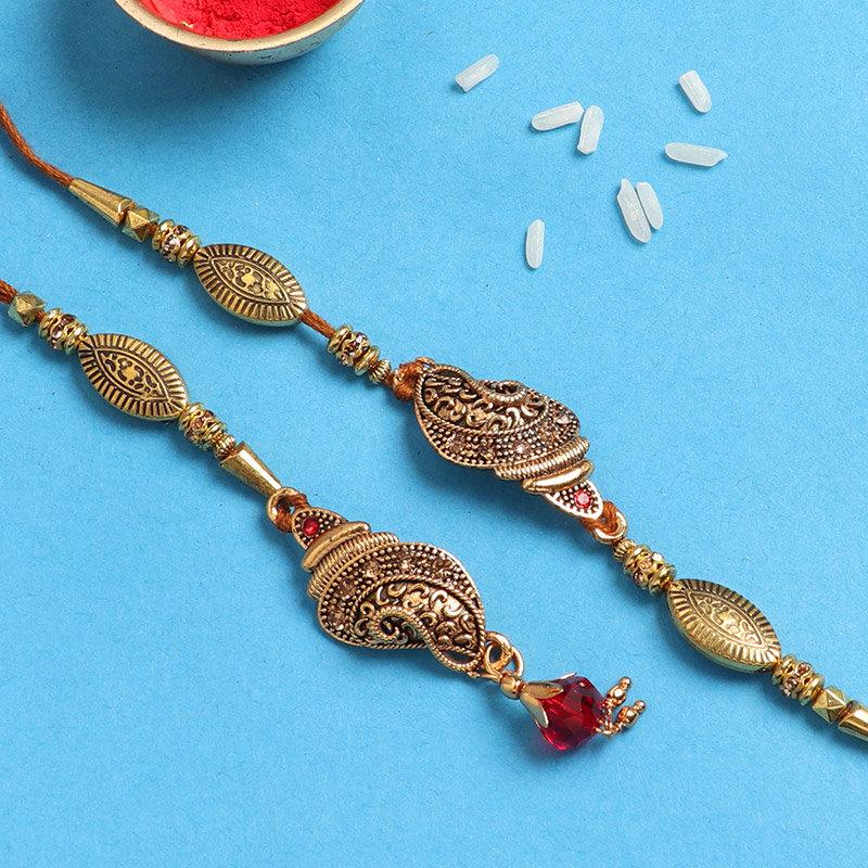 Bhaiya Bhabhi Designer Rakhi