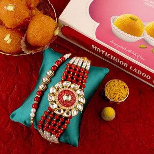 Bhaiya Bhabhi Love Rakhi Hamper