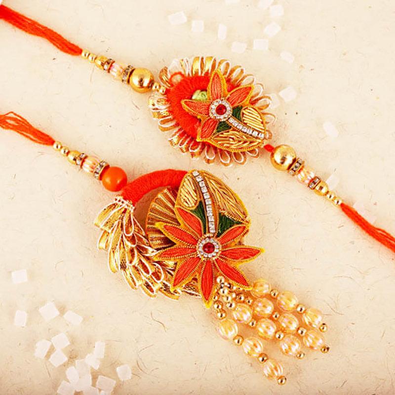 Bhaiya Bhabhi Royalty Rakhi