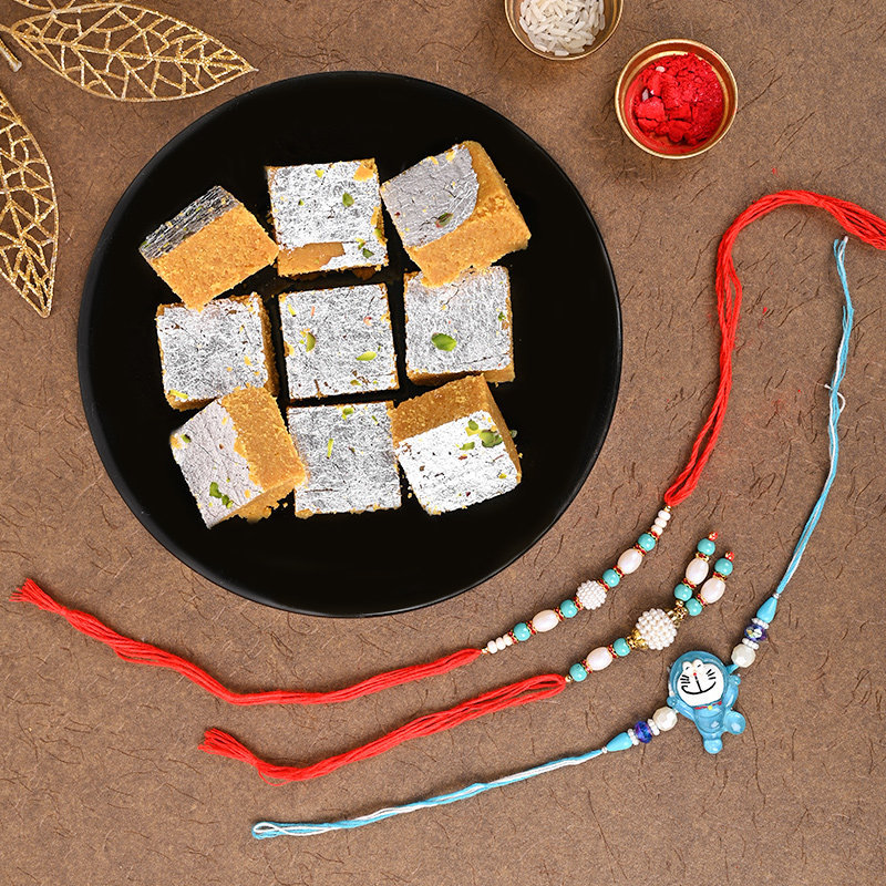 Rakhi With Sweets Delivery in India