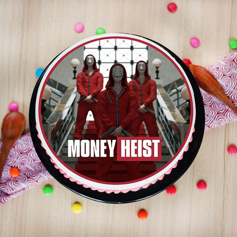 Binge Worthy Heist Team Cake