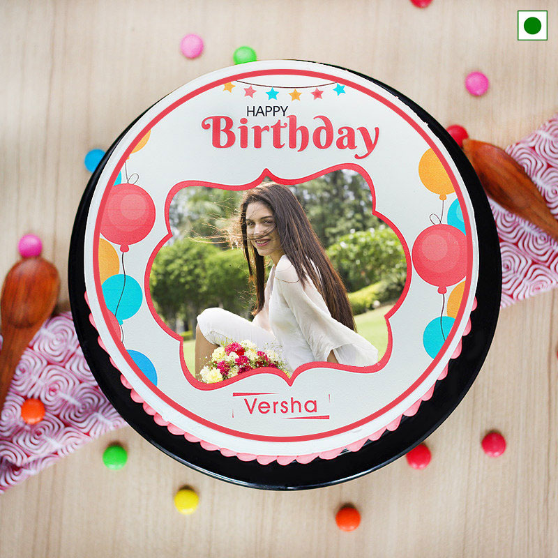 Birthday Eggless Poster Cake