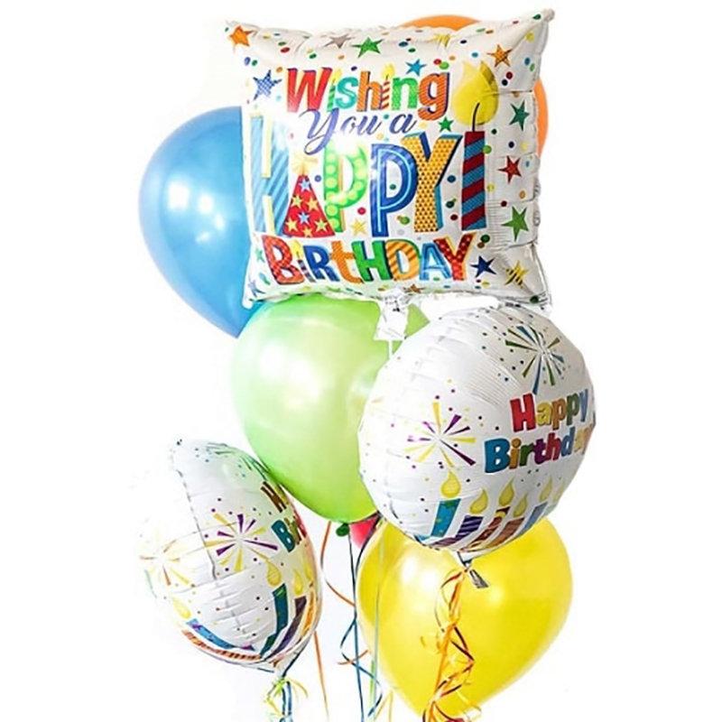 Birthday Foil Balloons