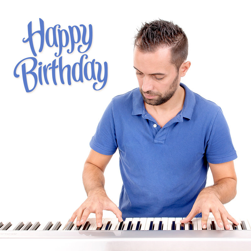 Birthday Special Wishes With Piano Surprise